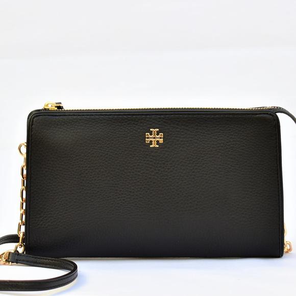 c957098740d Tory Burch Marsden Leather Wallet Crossbody Bag. M 5c8d9115c89e1dbee817fd2a